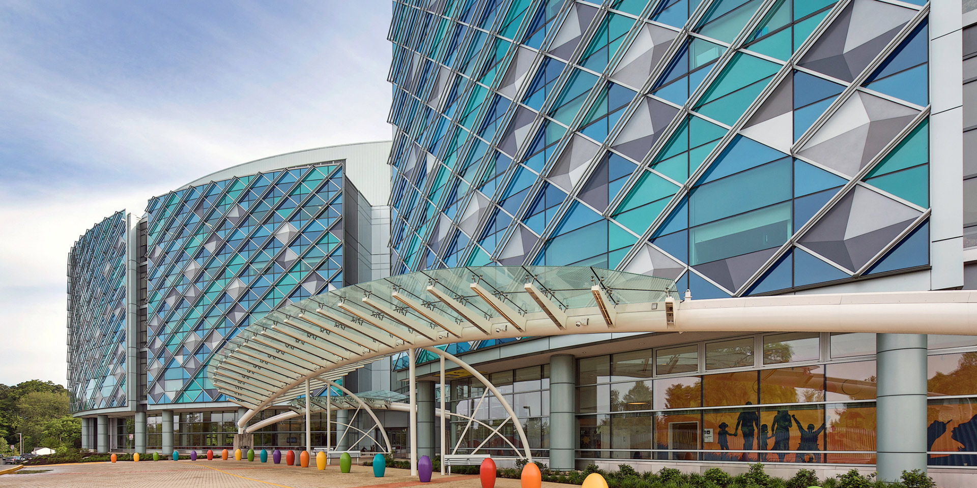 Nemours/Alfred I. duPont Hospital for Children | Azuria® Glass & Solarban® 70XL Clear Glass