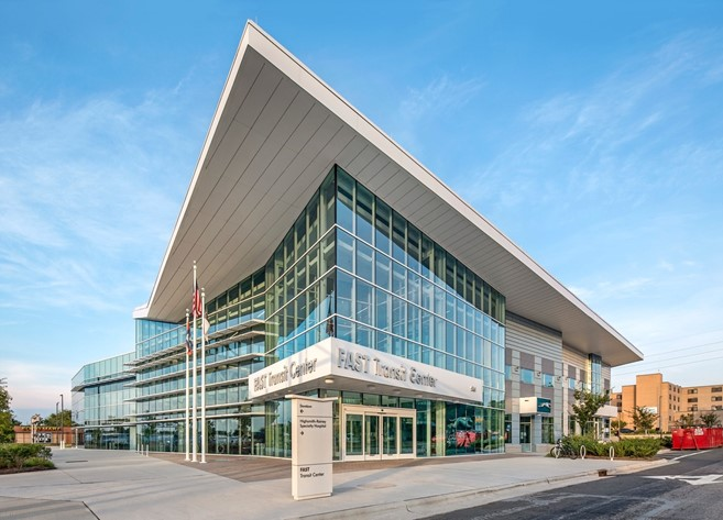 Solarban 67 Glass Aids Wayfaring At North Carolina Transit Center Vitro Architectural Glass