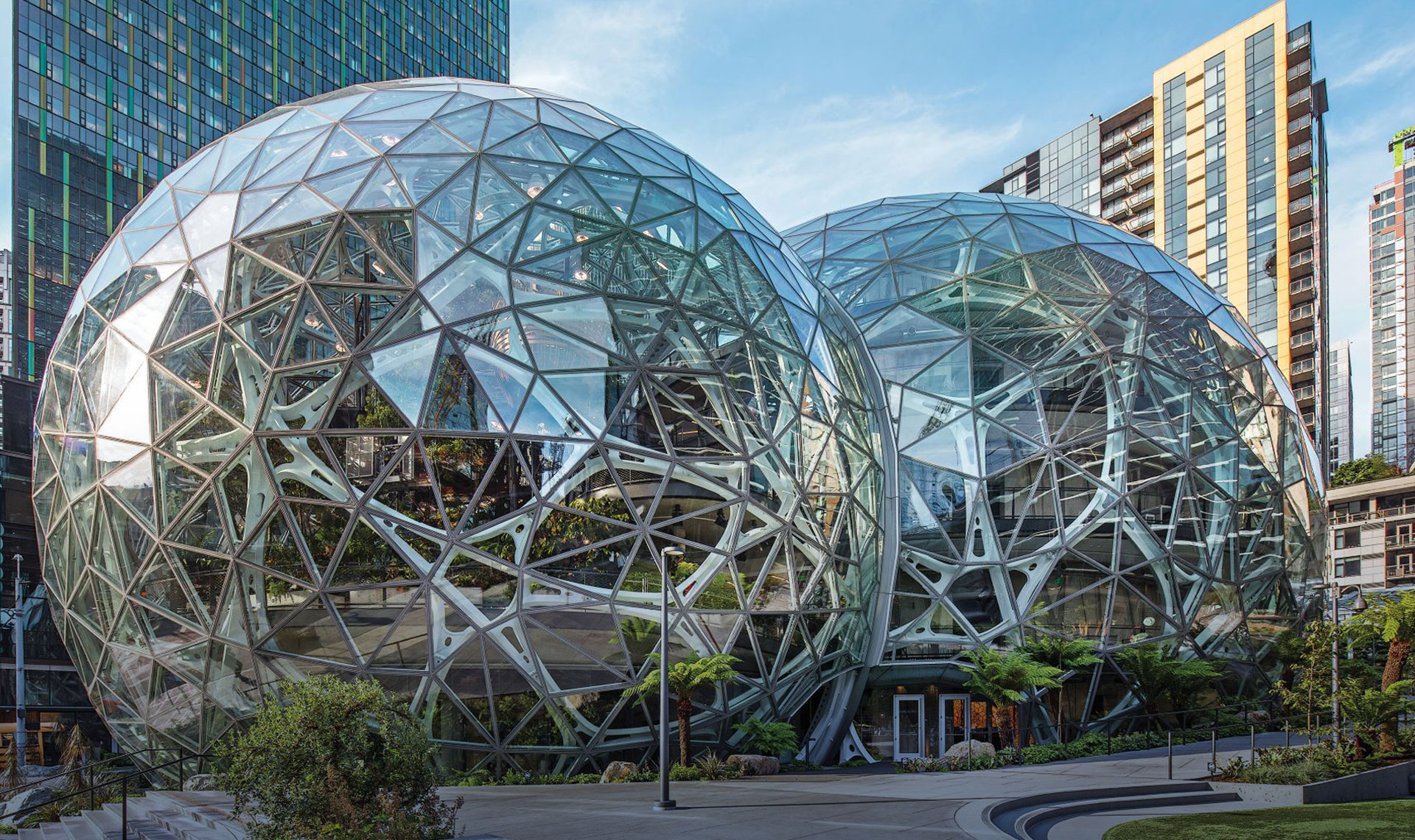 Amazon Spheres Home Slide 3