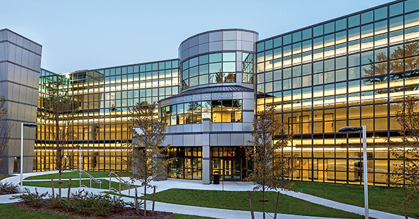 Suffolk Community College - William J. Lindsay Life Sciences Building - Solarcool