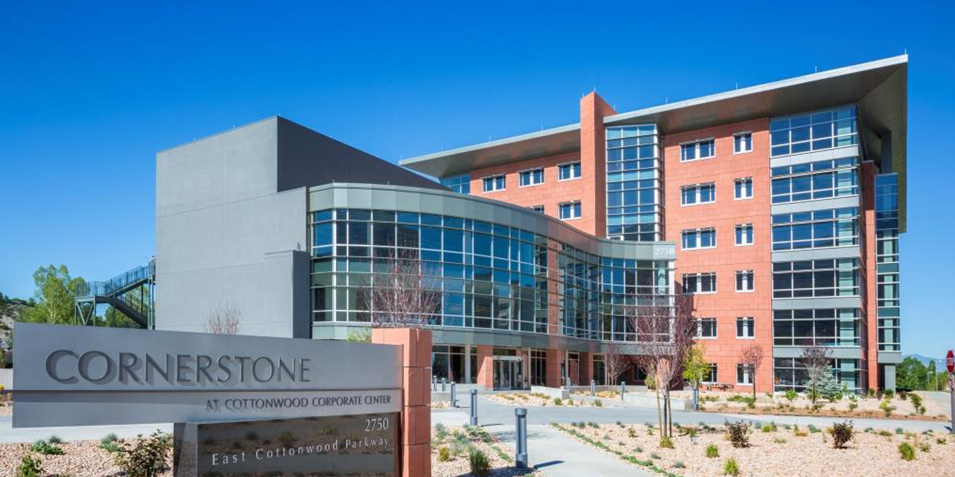 Cornerstone at Cottonwood Corporate Center | Solarban® z75 Glass (Solarban® 70 Optiblue® Glass)