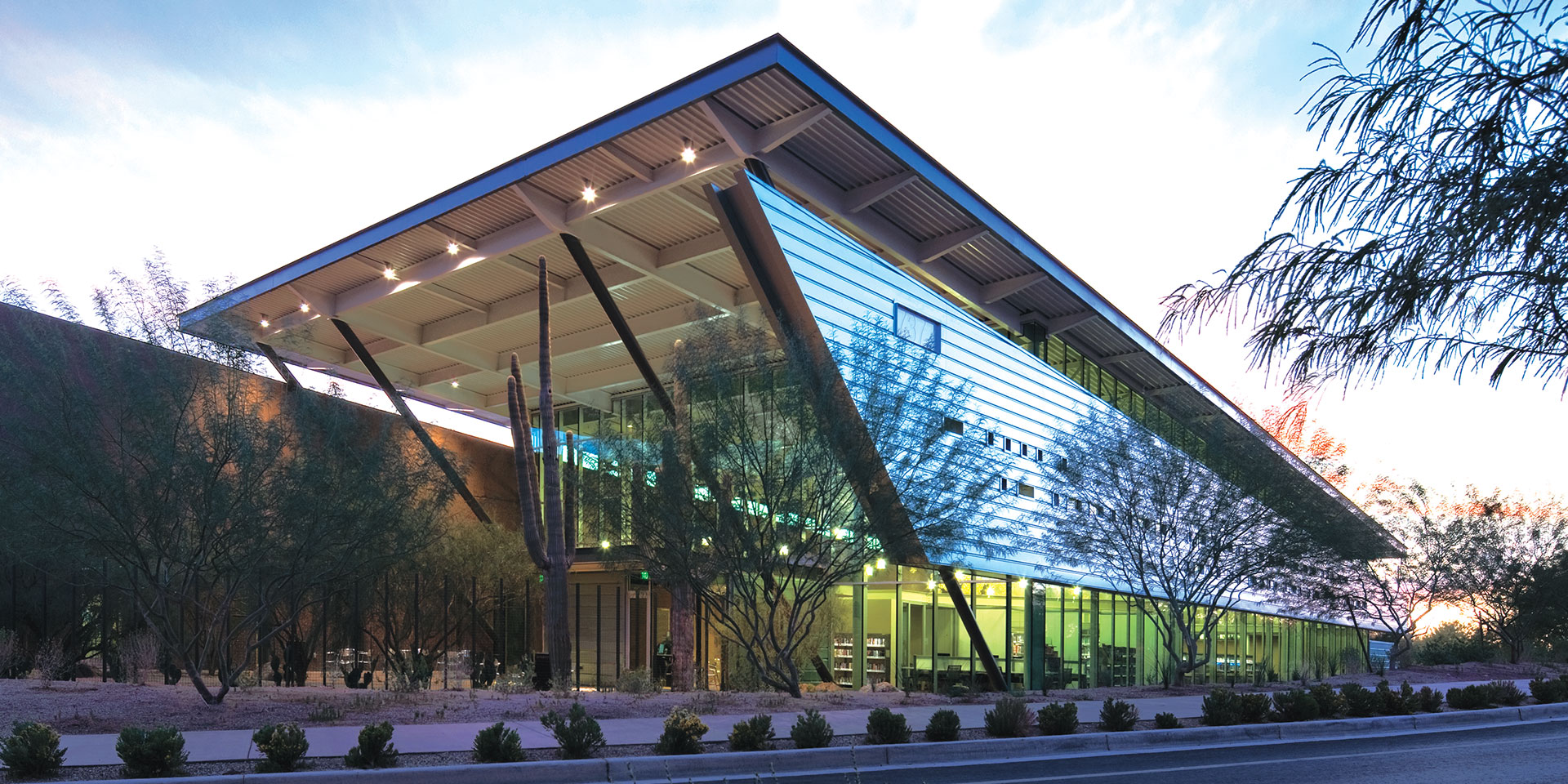 Appaloosa Branch Library | Solarban® 60 Atlantica® Glass